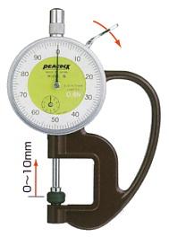 Hasil gambar untuk peacock thickness gauge G-20