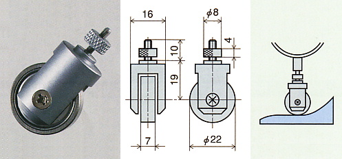 Roller Contact Point ; SH-1